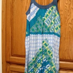 NWT ROXY GIRL SZ 14 SUMMER SUNDRESS CARIBBEAN SEA